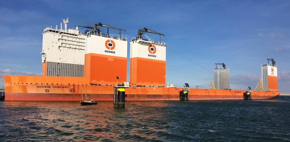 Cleaning and Outfitting Dockwise Vanguard