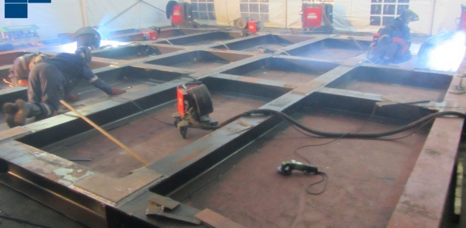Fabrication of 2 fender boards